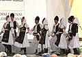 Praha, Staré Město, Ovocný trh, Pražský jarmark, srbské tance.JPG