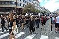 Praha, Václavské náměstí, Pride 2017, Amnesty International, účastníci.jpg