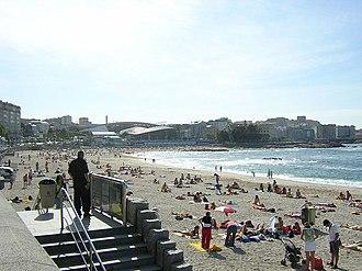 Carballo - Image: Praia de Riazor.A Coruña Galicia