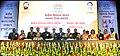 Prakash Javadekar with the recipients of the KVS National Incentive Awards 2016 and the Innovation and Experimentation Awards 2016, at the Kendriya Vidyalaya Sangathan (KVS) foundation day function, in New Delhi (2).jpg