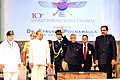"""Pranab Mukherjee at the inaugural function of the 10th World Zoroastrian Congress, on the theme """"Zoroastrianism in the 21th Century Nurturing Growth and Affirming Identity"""", in Mumbai. The Governor of Maharashtra.jpg"""