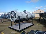 Pratt & Whitney F135-PW-100 engine mock-up on display at the 2015 Australian International Airshow.jpg