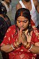 Praying Devotee - Chhath Puja Ceremony - Baja Kadamtala Ghat - Kolkata 2013-11-09 4287.JPG
