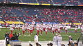 Pride of Utah performing pregame at 2009 Poinsettia Bowl 3.JPG