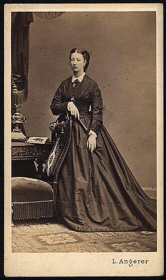 Princess Marguerite Adélaïde of Orléans - Princess Marguerite Adélaïde Czartoryska, early 1870s