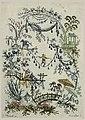 """Print, Ornamental Design from """"Nouvelle suite de cahiers chinois a l'usage des Dessinateurs et des peintres"""", No.2, Inventés et dessinés par Jean Pillement. Gravés par Anne Allen. """", after 1775 (CH 18217655).jpg"""
