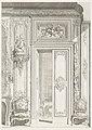 Print, Projet de Porte d'Appartement fait pour M.e la Baronne de Bezenval; Projet de porte pour Madame de Besenval, (1730-1734), 1st Plate, 1740 (CH 18222677).jpg