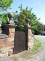 Priory Farmhouse gate Shustoke.JPG