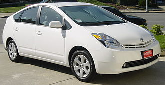 Four-stroke engine - This 2004 Toyota Prius hybrid has an Atkinson-cycle engine as the petrol-electric hybrid engine