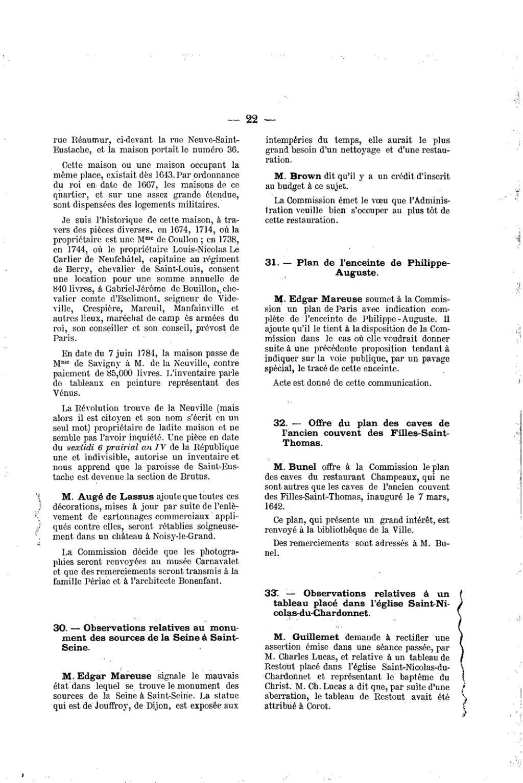 Nettoyer Un Vieux Tableau page:procès-verbal de la commission municipale du vieux