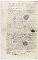 "Procès verbal d'examen du corps de la ""bête du Gevaudan"" 3 - Archives Nationales - AE-II-2927.jpg"