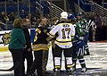 Providence Bruins vs Connecticut Whale Ceremonial face off.jpg