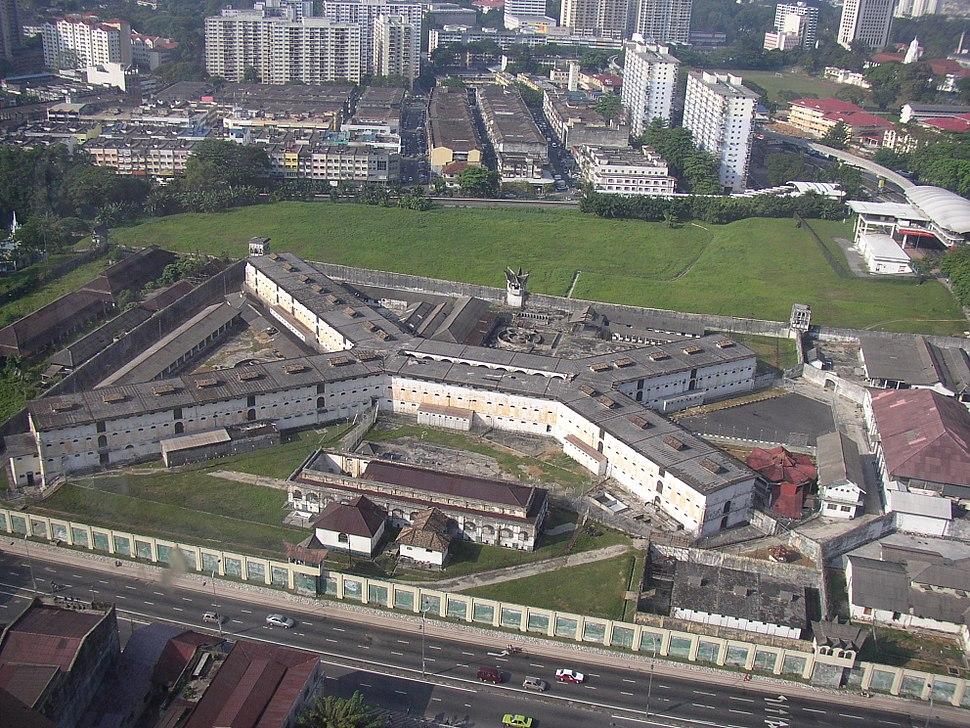 Pudu Prison KL Aerial