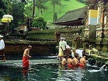 Indian girl hot bath image