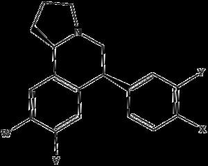 JNJ-7925476 - Image: Pyrroloisoquinoline