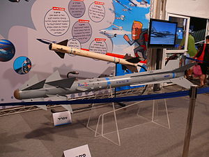 Rafael Advanced Defense Systems - Python-5 (front) and Shafrir 1 (back) missiles