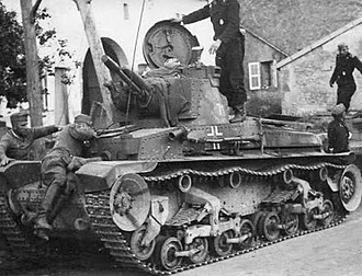 Panzer 35(t) - Pz.Kpfw. 35(t) of 6th Panzer Division Russian front, 1941