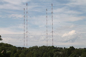 Voice of Russia - Antenna of The Voice of Russia in Wachenbrunn, Germany