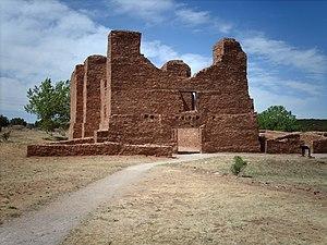 Salinas Pueblo Missions National Monument - Image: Quarairuin