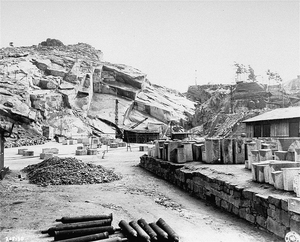 Quarry at Flossenbürg, USHMM 746235