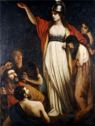 1793 in art - Image: Queen Boudica by John Opie
