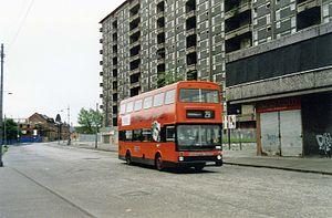 Hutchesontown C - Queen Elizabeth Flats in 1993