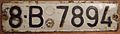 ROMANIA, BUCHAREST 1968 SERIES LICENSE PLATE - Flickr - woody1778a.jpg