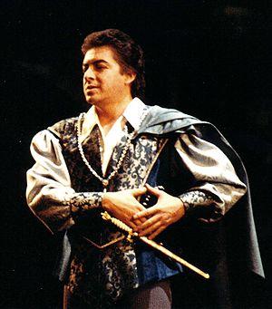 Francisco Araiza - Francisco Araiza as Romeo in Roméo et Juliette, Zurich 1990