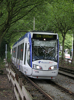 Centrum West RandstadRail station - Image: RR Ternoot 02072007