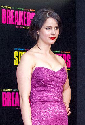 Rachel Korine - Korine at the Paris premiere of Spring Breakers in 2013