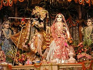 Radha Krishna Divine couple in Hinduism