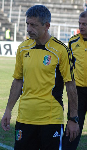 PFC Ludogorets Razgrad II - Radoslav Zdravkov, the current head coach of the team.
