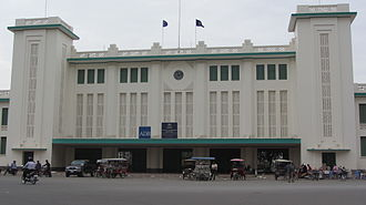 Rail transport in Cambodia - Railway Station - Phnom Penh 2012