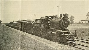 Pennsylvania-Reading Seashore Lines - A Seashore Line steam train in 1901