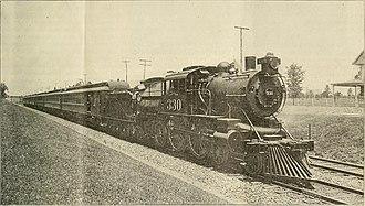 Pennsylvania-Reading Seashore Lines - A Seashore Line steam train in 1901