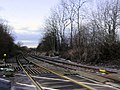 Railway crossing near Kirkby Woodhouse - geograph.org.uk - 630694.jpg