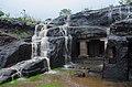 Rain, Waterfalls and a cave - Ellora.jpg