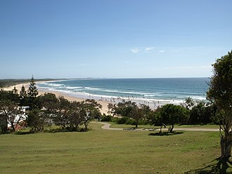 Bonny Hills, New South Wales - View of Rainbow Beach