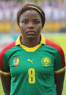 Raissa Feudjio Cameroonian female footballer