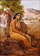 Raja Ravi Varma, Shakuntala lost in thoughts (1901).jpg