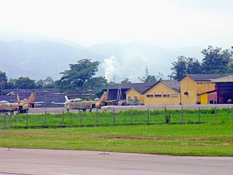 Ramón Villeda Morales International Airport - Military aircraft.