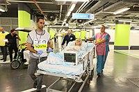 Rambam Hospital ,simulated casualties admission IMG 7984.jpg