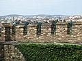 Ramparts of Tsarevets Fortress with City Backdrop - Veliko Tarnovo - Bulgaria - 02 (42501315104).jpg