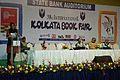 Ranajit Das Talking over Kazi Nazrul Islam - 38th International Kolkata Book Fair - Milan Mela Complex - Kolkata 2014-02-03 8260.JPG