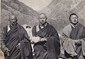 Rangjung Rigpe Dorje, 16th Karmapa (center), Pema Wangchuk Gyalpo, 11th Tai Situpa (right) and Jikdrel Tsewang Dorje- the 6th Ponlop Rinpoche in Tibet, 1945 (cropped).jpg