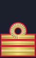 Rank insignia of capitano di fregata del Corpo di Commissariato of the Italian Navy.png