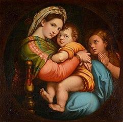 Madonna della Seggiola (Madonna of the Armchair)