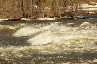 Rapids - Rapids on the Mississippi River (Ontario) in Pakenham, Ontario, Canada.