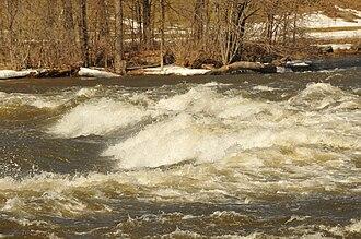Rapids - Rapids on the Mississippi River (Ontario) in Pakenham, Ontario, Canada.