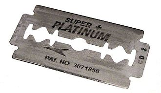 Safety razor - A modern double-edge safety razor blade